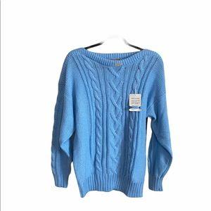 Lane Bryant Baby Blue Sweater Size 26 New